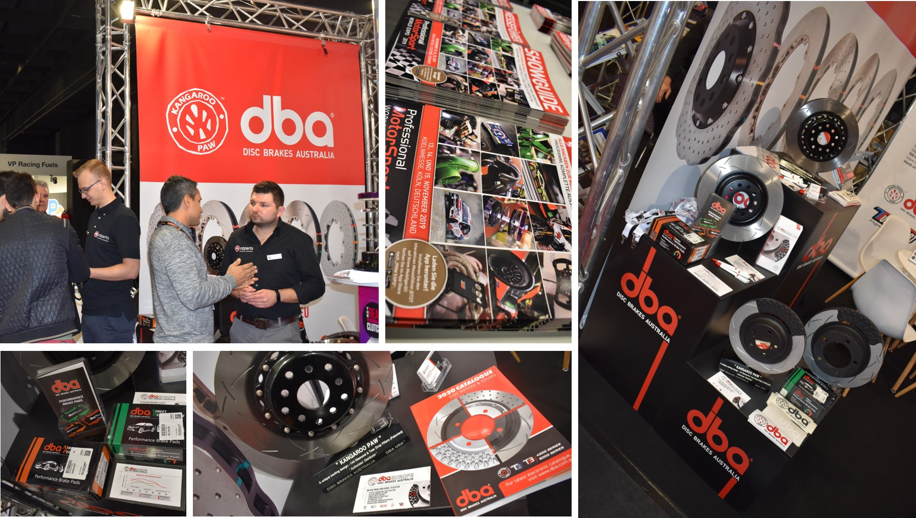 DBA Disc Brake at 14th Professional MotorSport World Expo